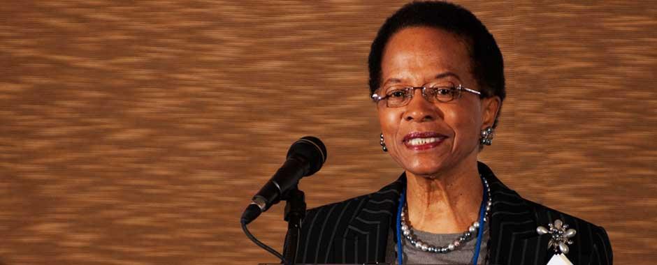 Reatha Clark King, National Chair NACD